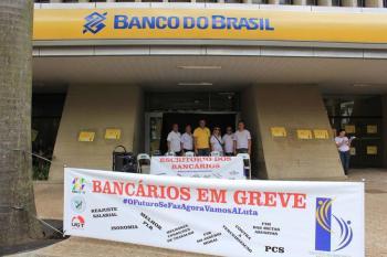 Foto do Sindicato dos Bancários